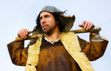 Per Andersson som Viking i Sweaty Beards